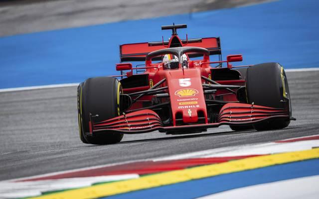 Sebastian Vettel startet in seine letzte Saison mit Ferrari