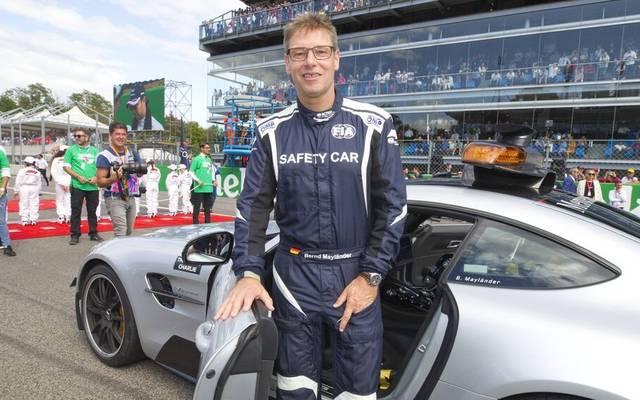 Safety Car Formel 1: Der Fahrer des Safety Cars in der F1 - Bernd Mayländer.