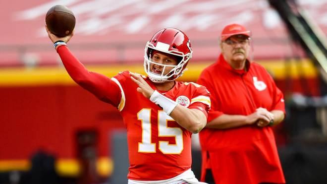 Patrick Mahomes führte die Kansas City Chiefs 2020 zum Super Bowl