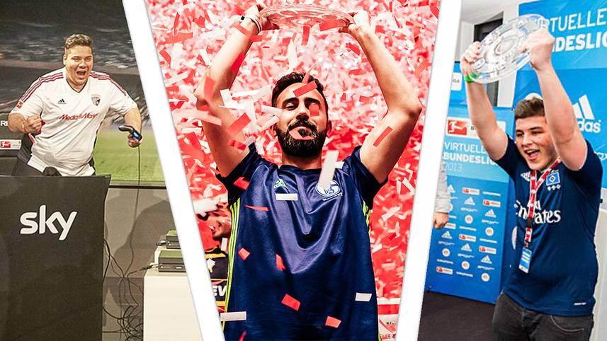 Die Virtuelle Bundesliga ging in die sechste Saison.In der Endrunde im Dortmunder Fußballmuseum wurde der neue deutsche FIFA-Meister 2018 gekürt. SPORT1 präsentiert retrospektiv noch einmal alle bisherigen Sieger.