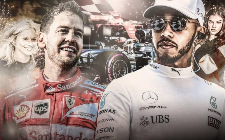 Form, Fakten, Frauen: In dieser Saison könnte es endlich zum heiß ersehnten Duell zwischen Sebastian Vettel und Lewis Hamilton kommen. SPORT1 mit einem Vergleich nach Vettels Überraschungscoup von Melbourne