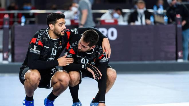 Bei Ägypten um Ahmed Hesham und Mohammad Sanad war nach dem bitteren WM-Aus Trauer angesagt