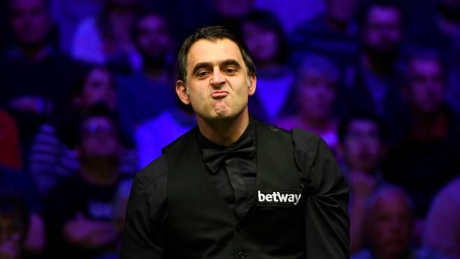 Ronnie O'Sullivan ist wenig begeistert davon, dass die Snooker-WM vor Zuschauern stattfindet