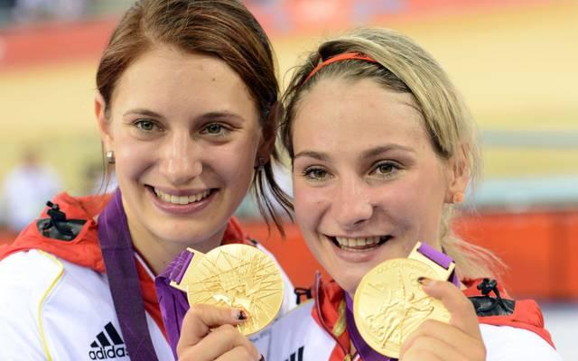 Miriam Welte (l., mit Kristina Vogel) beendet überraschend ihre Karriere