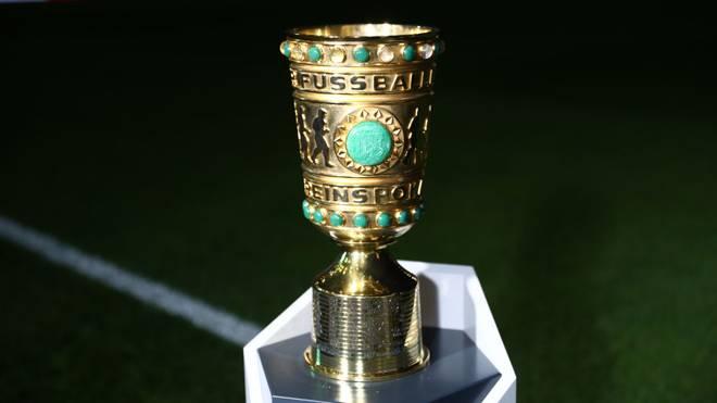 Um den DFB-Pokal streiten noch vier Mannschaften