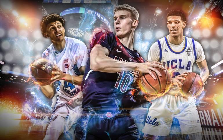 """Es geht wieder los! Natürlich steht im College-Finalturnier """"March Madness"""" (LIVE auf SPORT1 US) die Meisterschaft im Fokus, aber natürlich schauen alle NBA-Fans und Experten auch auf die Spieler mit dem größten Potenzial für eine Profikarriere. SPORT1 stellt die zehn heißesten NBA-Anwärter in einem Ranking vor"""