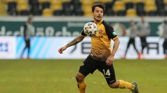 Philipp Hosiner von der SG Dynamo Dresden