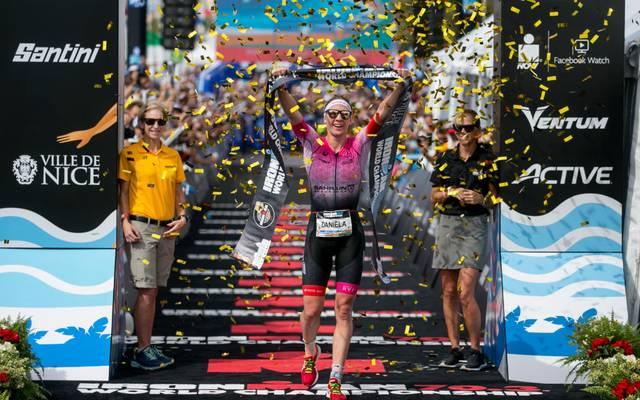Daniela Ryf hat ihren WM-Titel auf der Ironman-Halbdistanz verteidigt