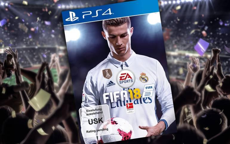 FIFA 18: Cristiano Ronaldo - Der Portugiese hat es endlich geschafft! Nach der Titelverteidigung in der Champions League kommt CR7 im Herbst zu seinem ersten Coverauftritt in EA Sports beliebter FIFA-Reihe