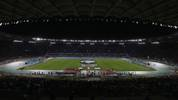 ROME, ITALY - OCTOBER 12:  A general view of the UEFA Euro 2020 qualifier between Italy and Greece at Stadio Olimpico on October 12, 2019 in Rome, Italy.  (Photo by Paolo Bruno/Getty Images)