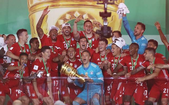 Der FC Bayern gewann 2020 erneut den DFB-Pokal
