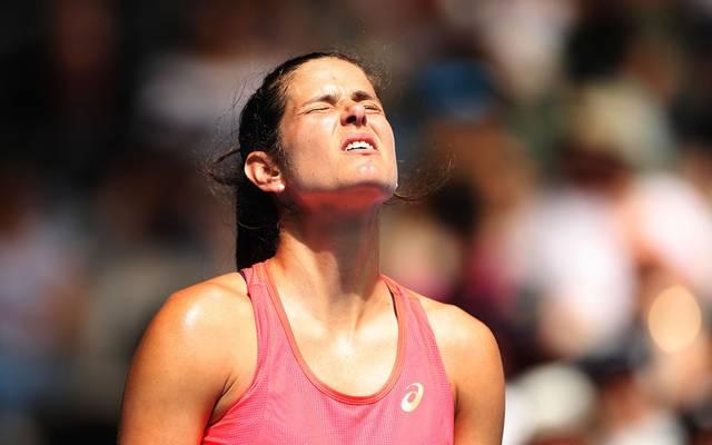 Julia Görges ist beim WTA-Turnier in Doha bereits in der ersten Runde ausgeschieden