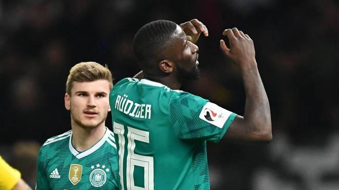 Antonio Rüdiger und Timo Werner kennen sich bereits aus der Nationalmannschaft