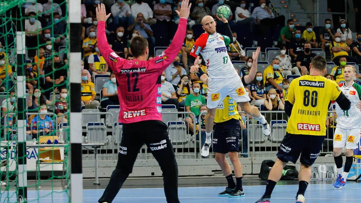 Tim Hornke war mit fünf Treffern bester Werfer der Magdeburger