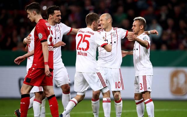Der FC Bayern steht zum 22. Mal im Finale des DFB-Pokals