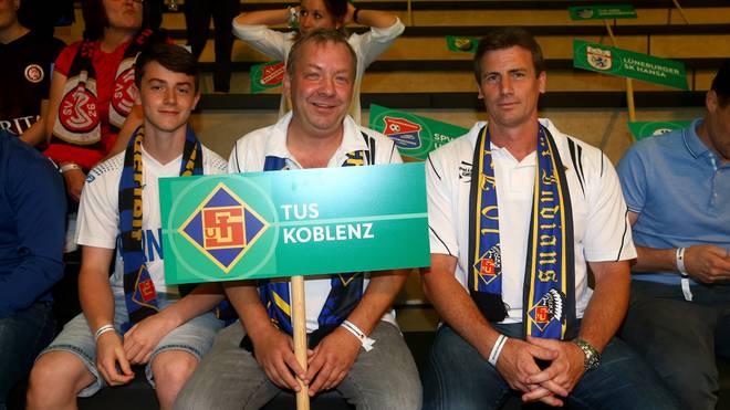TuS Koblenz spielt in der ersten Runde des DFB-Pokals gegen Dynamo Dresden