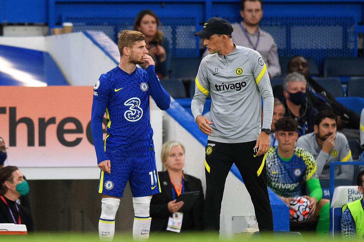 Thomas Tuchel muss beim FC Chelsea vorerst auf Timo Werner und Romelu Lukaku verzichten.