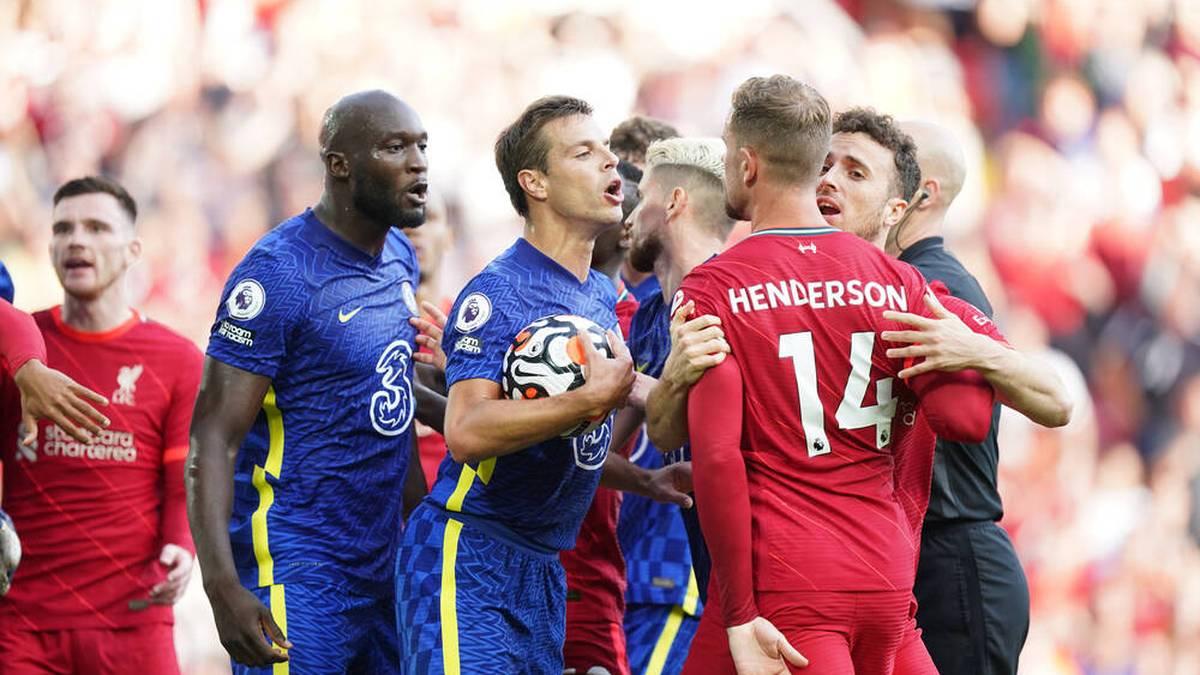 Hitzige Diskussionen im Topspiel zwischen Liverpool und Chelsea