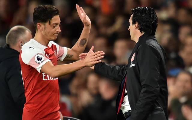 Mesut Özil kam im Kalenderjahr 2019 noch gar nicht für den FC Arsenal zum Einsatz