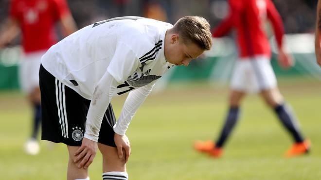 U19 Germany v U19 Norway - UEFA Under19 European Championship Qualifier