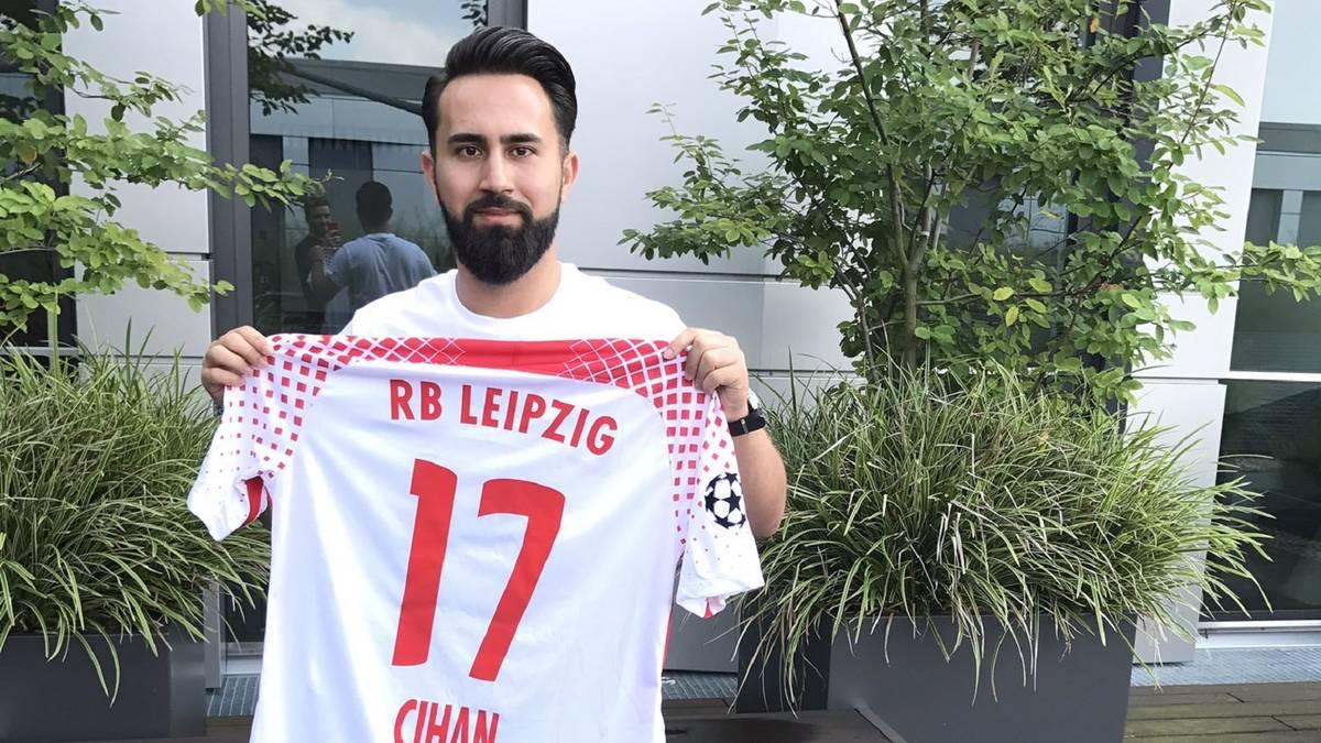 Cihan Yasarlar von RB Leipzig steht in den Playoffs der Virtuellen Bundesliga