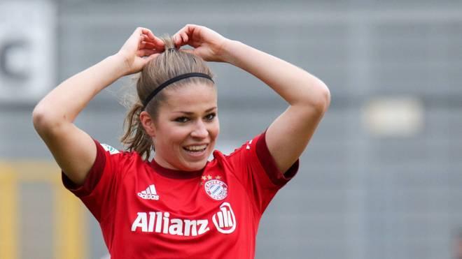 Melanie Leupolz gewann mit der deutschen Mannschaft in Rio Gold