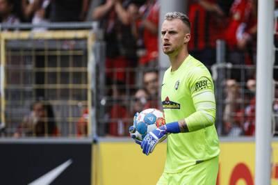 Torwart Mark Flekken vom Bundesligisten SC Freiburg darf auf sein Debüt für die niederländische Nationalmannschaft hoffen.