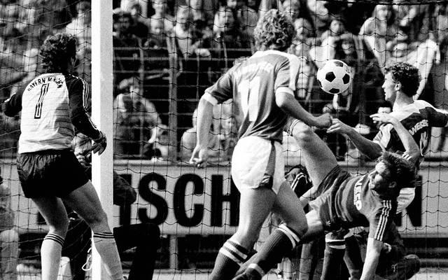 Das Debüt von Jean-Marie Pfaff für den FC Bayern ist in die Bundesliga-Geschichte eingegangen
