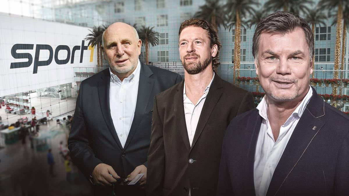 Dieter Hoeneß und Steffen Freund sind zu Gast im Doppelpass
