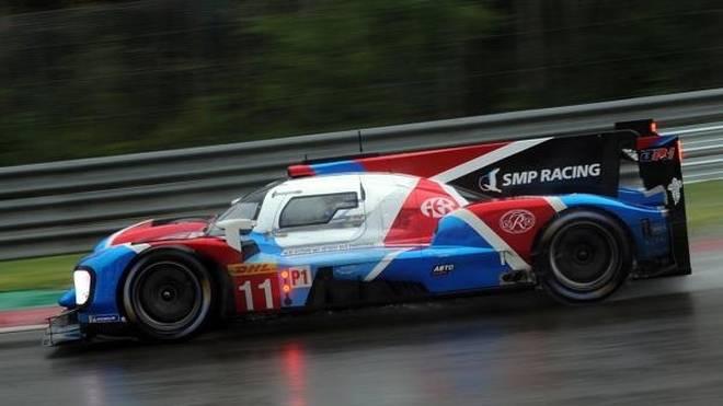 SMP Racing hatte nur noch die ersten vier Gänge zur Verfügung