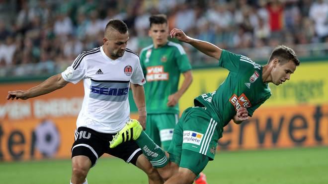 Rapid Wien setzte sich mit 3:0 gegen Torpedo Schodsina durch