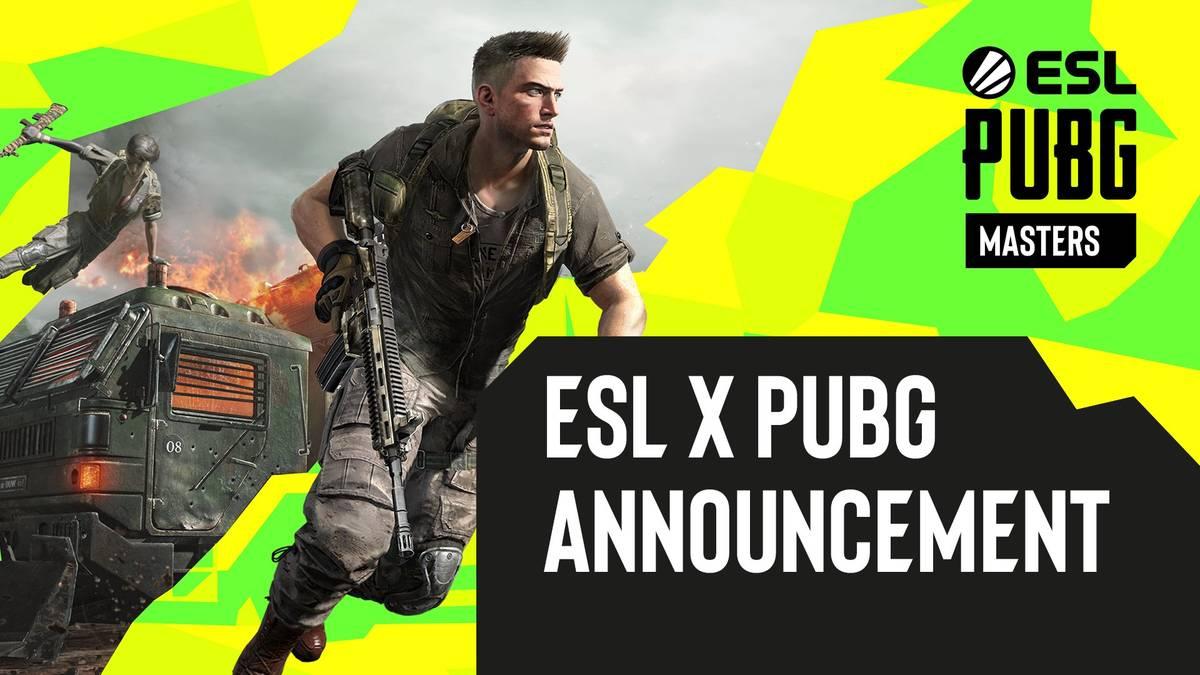 Die ESL kündigt neue Turnierreihen für PUBG an