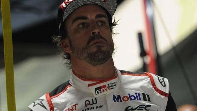 Die Chancen auf einen Verbleib von Alonso in der WEC sind nicht gerade gestiegen