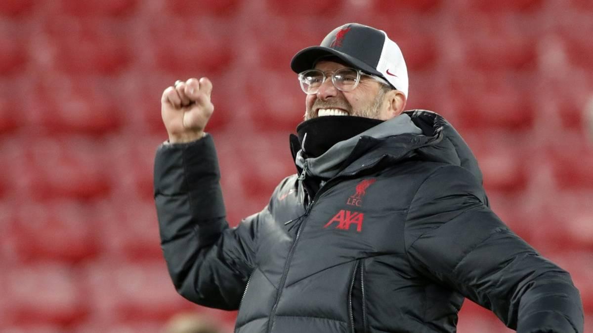 Jürgen Klopp freut sich über die Rückkehr der Fans