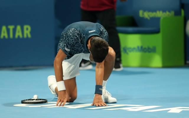 Novak Djokovic hat eine überraschende Niederlage hinnehmen müssen