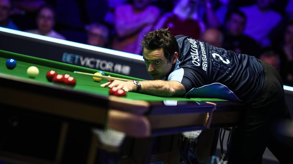 Ronnie O'Sullivan wurde fünf Mal Snooker-Weltmeister