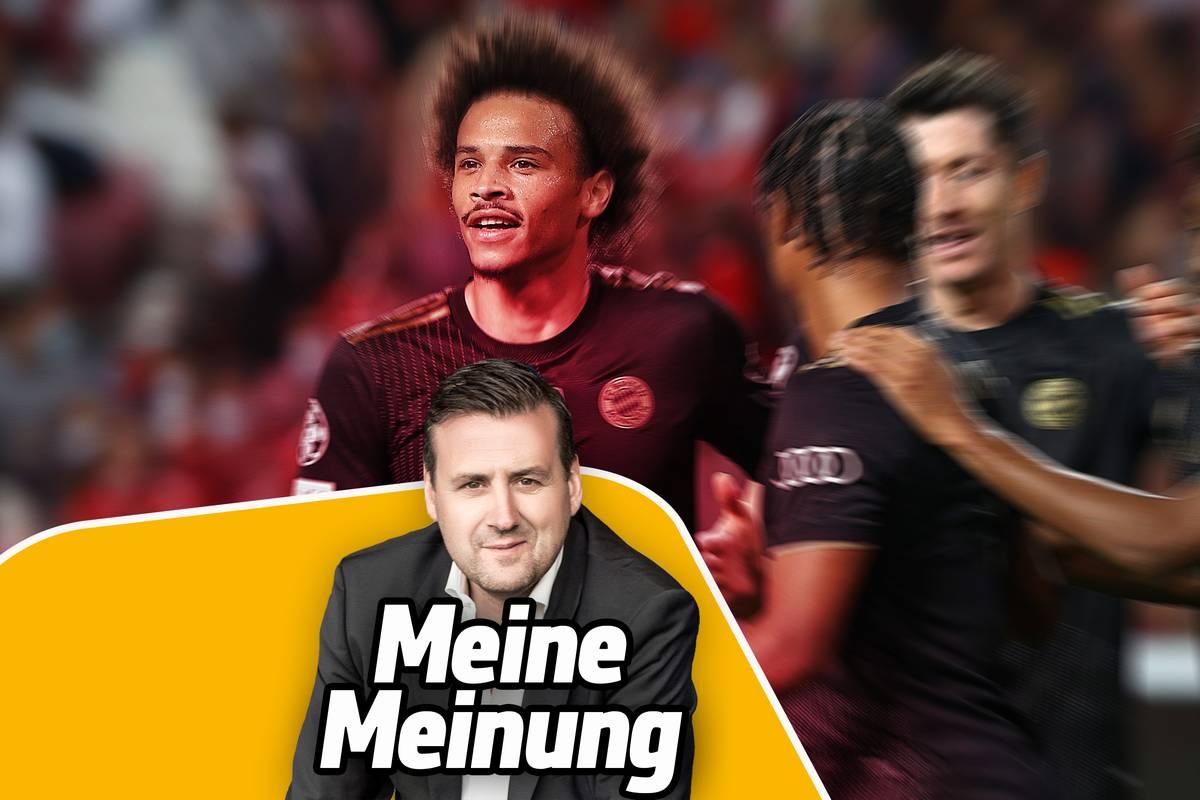 Beim 4:0 des FC Bayern München in der Champions League gegen Benfica Lissabon ragt Leroy Sané einmal mehr heraus. Chefredakteur Pit Gottschalk über den Wandel des deutschen Nationalspielers.