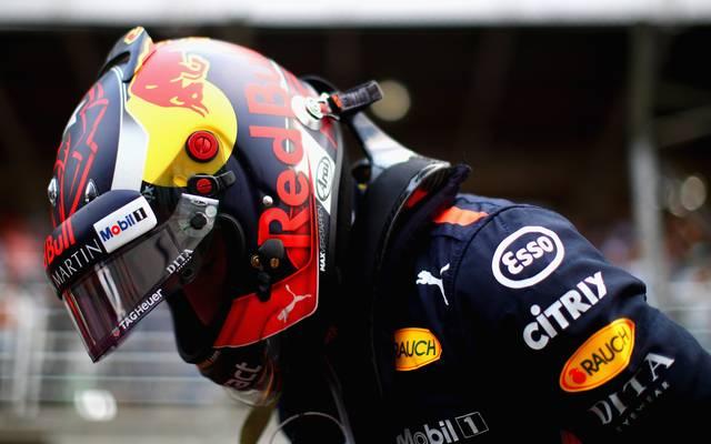Max Verstappen brannten nach dem Brasilien-GP die Sicherungen durch