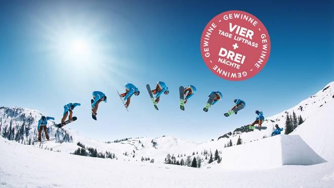 Gewinnt 4 Tage Liftpass + 3 Übernachtungen in Ski amadé!