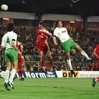 Als Werder gegen Hannover 96 ein Europapokalspiel war