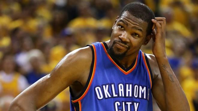 Kevin Durant schließt sich den Golden State Warriors an
