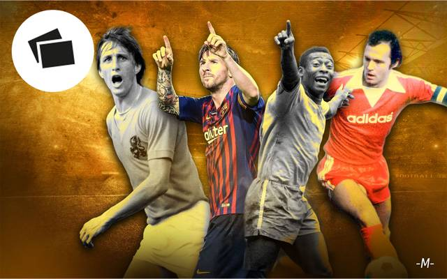 Messi, Cruyff, Pelé, Beckenbauer? Wer ist für Sie der beste Fußballer aller Zeiten?