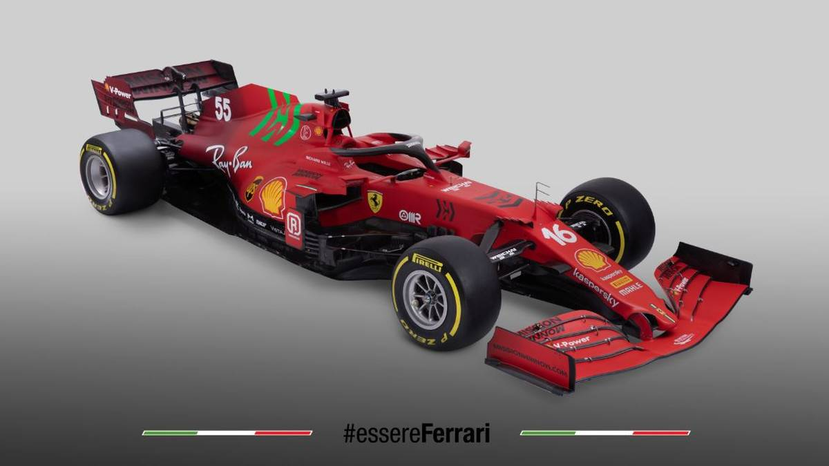 Mit diesem Boliden will Ferrari in der kommenden Saison um den WM-Titel fahren