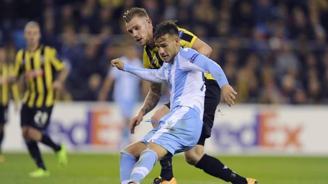 Alessandro Murgia sorgte mit seinem Tor für den Sieg von Lazio Rom