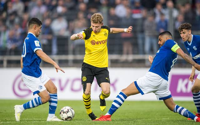 Borussia Dortmund U19 v FC Schalke 04 U19 - A-Juniors German Championship Semi Final Leg Two