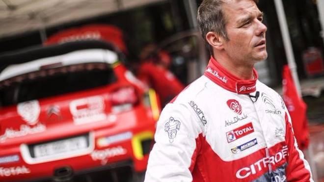Sebastien Loeb absolviert seinen zweiten Test mit dem C3, diesmal auf Schotter