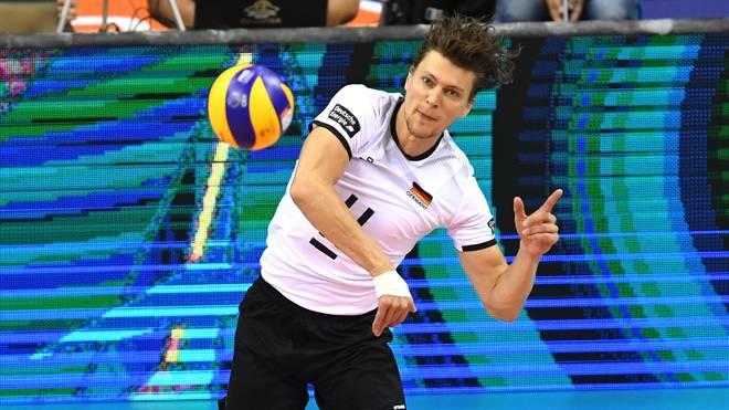 Die deutschen Volleyballer (Bild Lukas Kampa) haben in der Nations League ihren zweiten Sieg gefeiert