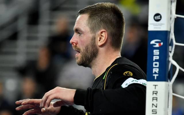 Handball: Torwart Andreas Palicka von den Rhein-Neckar Löwen verletzt, Torhüter Andreas Palicka steht bei den Rhein-Neckar Löwen im Tor