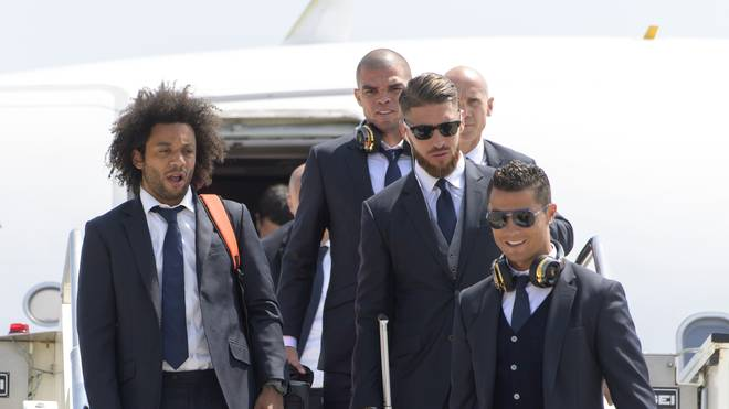 Real Madrid Arrival - UEFA Champions League Final