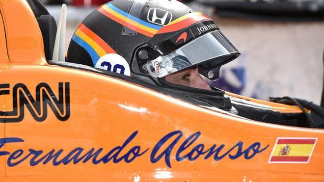 Formel-1-Star Fernando Alonso feiert am 28. Mai sein IndyCar-Debüt